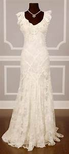 Vintage chantilly lace wedding dress weddings pinterest for Chantilly lace wedding dress
