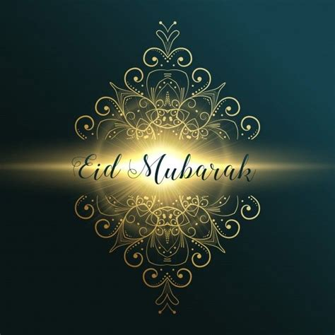 eid mubarak greeting card design  floral