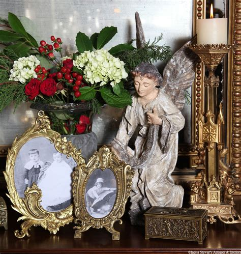 antique inspirations holiday decor antiques  style