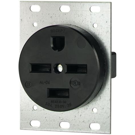 Eaton 30 Amp 250 Volt 15 30 3 Pole/4 Wire Power Receptacle