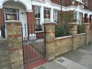 cecillia front garden brick wall ideas With front garden brick wall designs