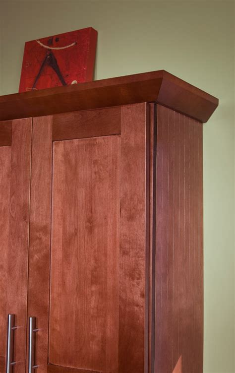 Cabinet Angled Mold by All Wood Cabinetry