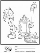Coloring Stove Precious Moments Boy Printable Wood Animal Sheet Animals Charlotte Getcolorings Embroidery Sheets Stoves sketch template