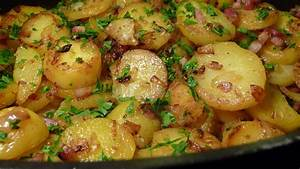 Bratkartoffeln Mit Speck Und Zwiebeln Der Beilage