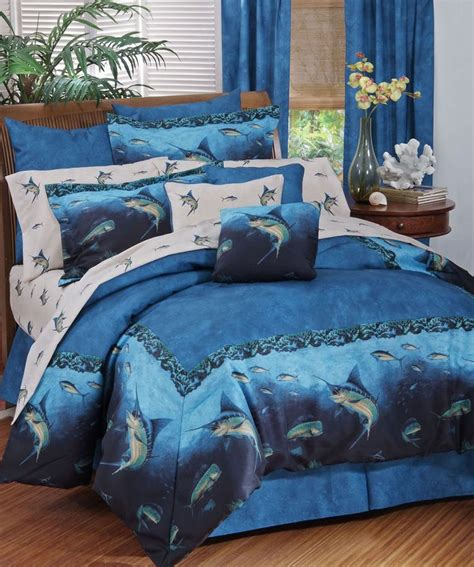 coral reef fish bedding 11 pc queen comforter set ocean