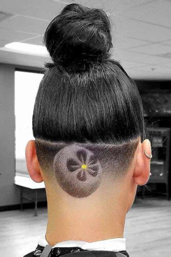 creative undercut designs  bold modern ladies