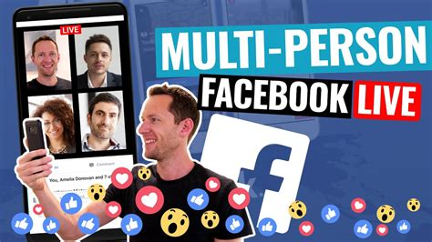 Facebook Live With 2 People! (how to add guests into your ...