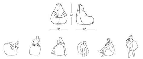 Zanotta Poltrona Anatomica Sacco In Ecopelle Vip 80 X H 68