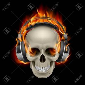 Cool flaming skull clipart - BBCpersian7 collections