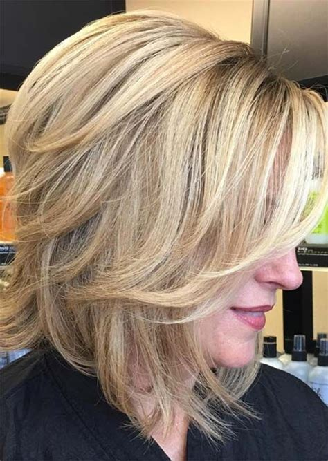 Top 51 Haircuts & Hairstyles for Women Over 50 Blonde