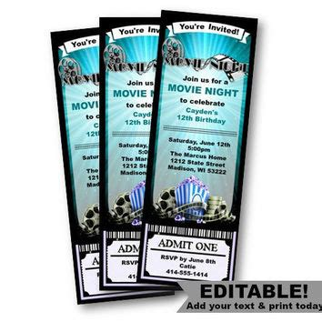 Ticket Stub Template Pink And Blue by Best Admit One Tickets Products On Wanelo