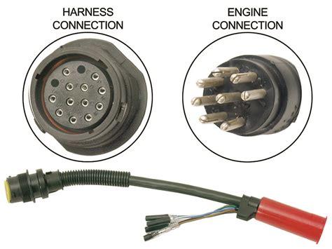 Mercury 14 Pin Wiring Harnes by Mercury Quicksilver 84 896539t01 1 Adaptor 14 Pin F 8