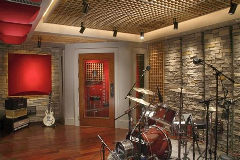 home recording studio design wall painting ideas for room