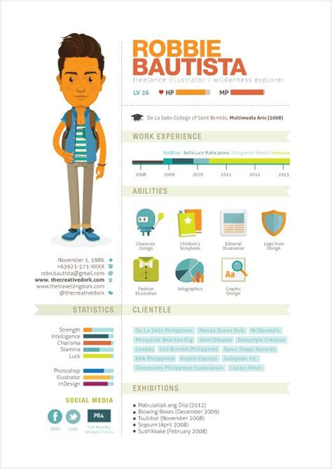 Creative Media Resumes by 97 Best Creative Cv Images On Resume Ideas Cv