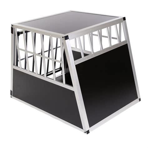 box auto in alluminio box auto per cani in alluminio per il trasportino 1