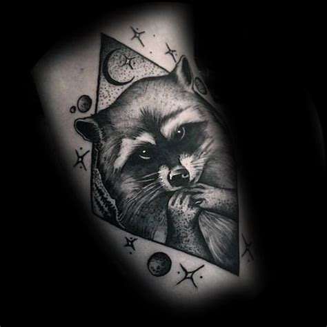terrific raccoon tattoos designs   perfect ink