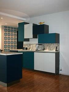renovation salle de bain papier peint peau de girafe With kitchen colors with white cabinets with ramettes papier a4
