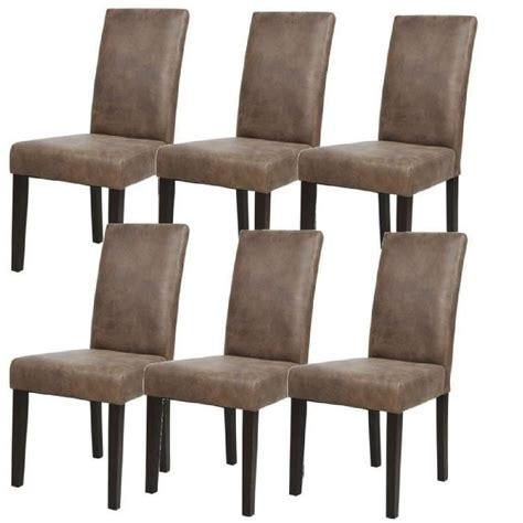 chaises pour salle à manger chaises marron achat vente chaises marron pas cher