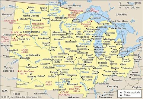 History, States, Map, & Facts