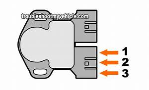 Throttle Position Sensor Test  Nissan 3 3l Pathfinder