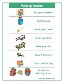 Kid Morning Routine Checklist