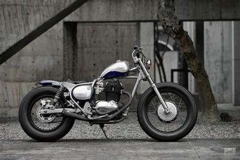 Kawasaki W250 Wallpapers by Kawasaki S Tiny Bj250 Estrella Gets Bobbed By 2loud Bike
