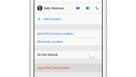 how to leave a message on iphone how to leave a chat in iphone messages digitalclik it