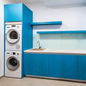 Machine A Laver Murale : comment superposer une machine laver et un s che linge ~ Dode.kayakingforconservation.com Idées de Décoration