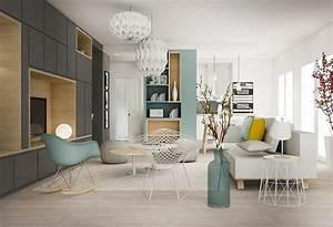 un bain de lumiere amenagement renovation appartement With idee deco interieur appartement