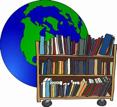 Library Clip Clipart Global Libraries Cliparts Librarian