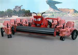 Frank The Combine From Cars Movie