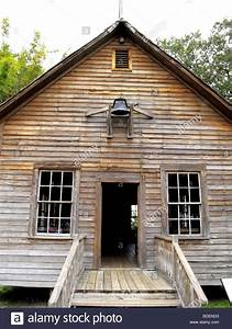 old historic one room school house in Cracker Country ...