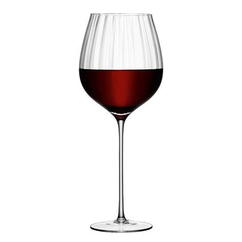 Most wine glasses are stemware, that is they are goblets composed of three parts: Buy LSA International Aurelia Red Wine Glasses - Set of 4 ...