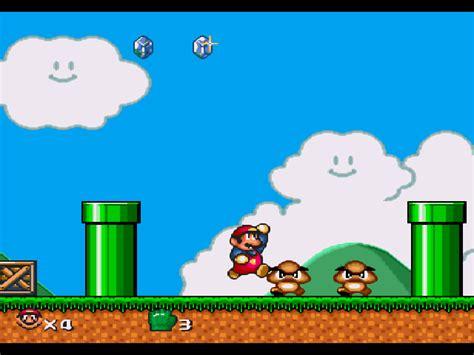 super mario world screenshots gamefabrique