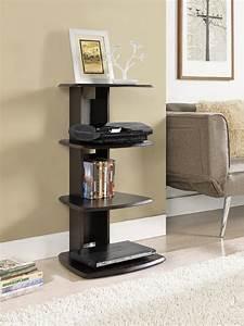 Dorel Galaxy Espresso Media Stand