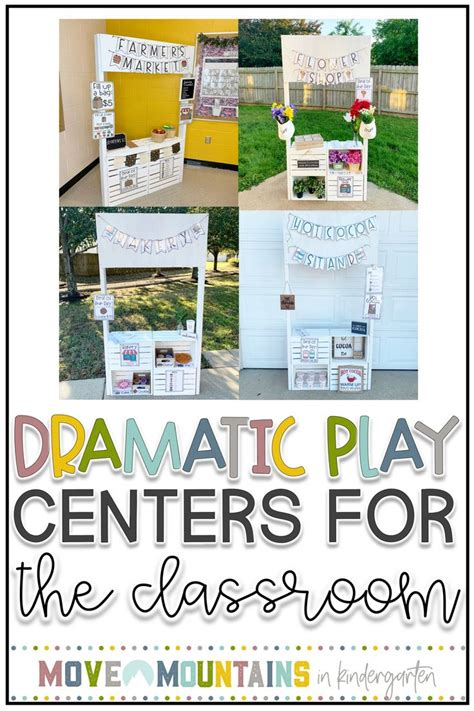 dramatic play   classroom move mountains