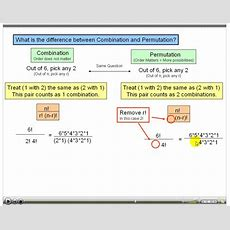 Permutation And Combination Help! Quantitative
