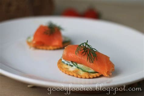 okay canapé salmon canapes recipe dishmaps