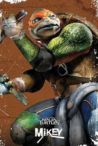 Teenage Mutant Ninjs Turtles - Michelangelo Poster | Sold ...