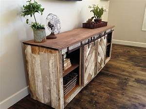 Ana white grandy sliding door console diy projects for Console table with sliding barn doors