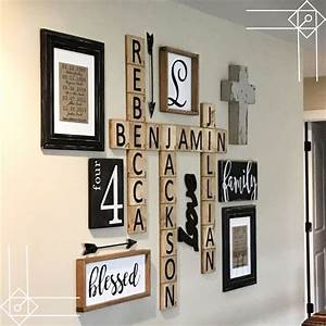 scrabble letters home decor 28 images wall decor With belle maison rustic letter wall decor