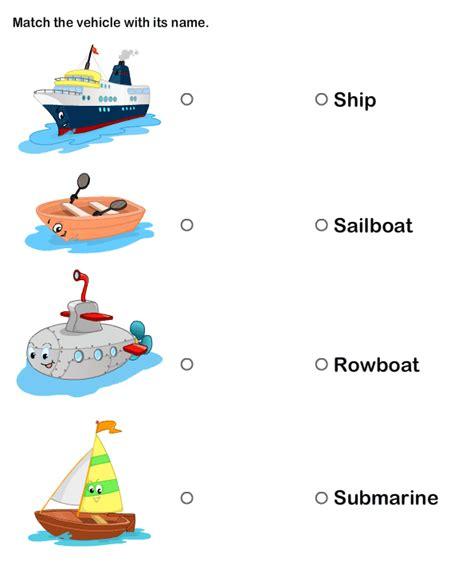 Transportation Worksheets For Preschoolers