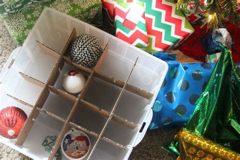 how to store net christmas lights storage ideas organizing decorations on a budget