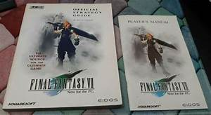 Final Fantasy Vii Strategy Guide Pc Rare With Player U0026 39 S