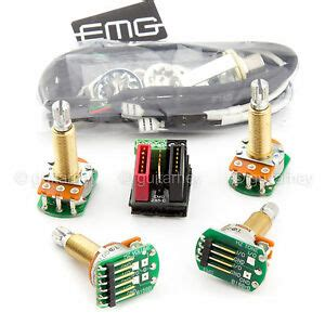 New Emg Solderless Wiring Conversion Kit For Pickups