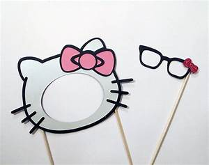 5 best images of hello kitty printable mask hello kitty for Hello kitty mask template
