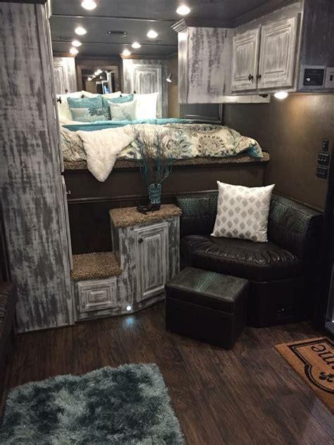 trailer trailer interior trailer remodel remodeled campers