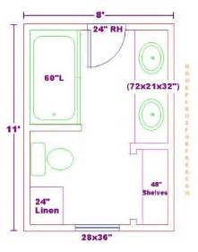 bathroom floorplans free bathroom plan design ideas bathroom design 8x11