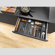 Blum Brings Kitchen Accessories And Inner Dividers