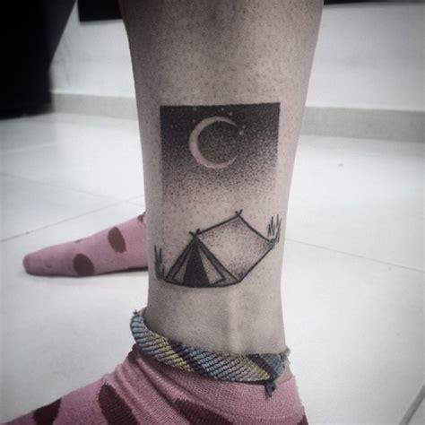 tent  crescent moon tattoo tattoogridnet